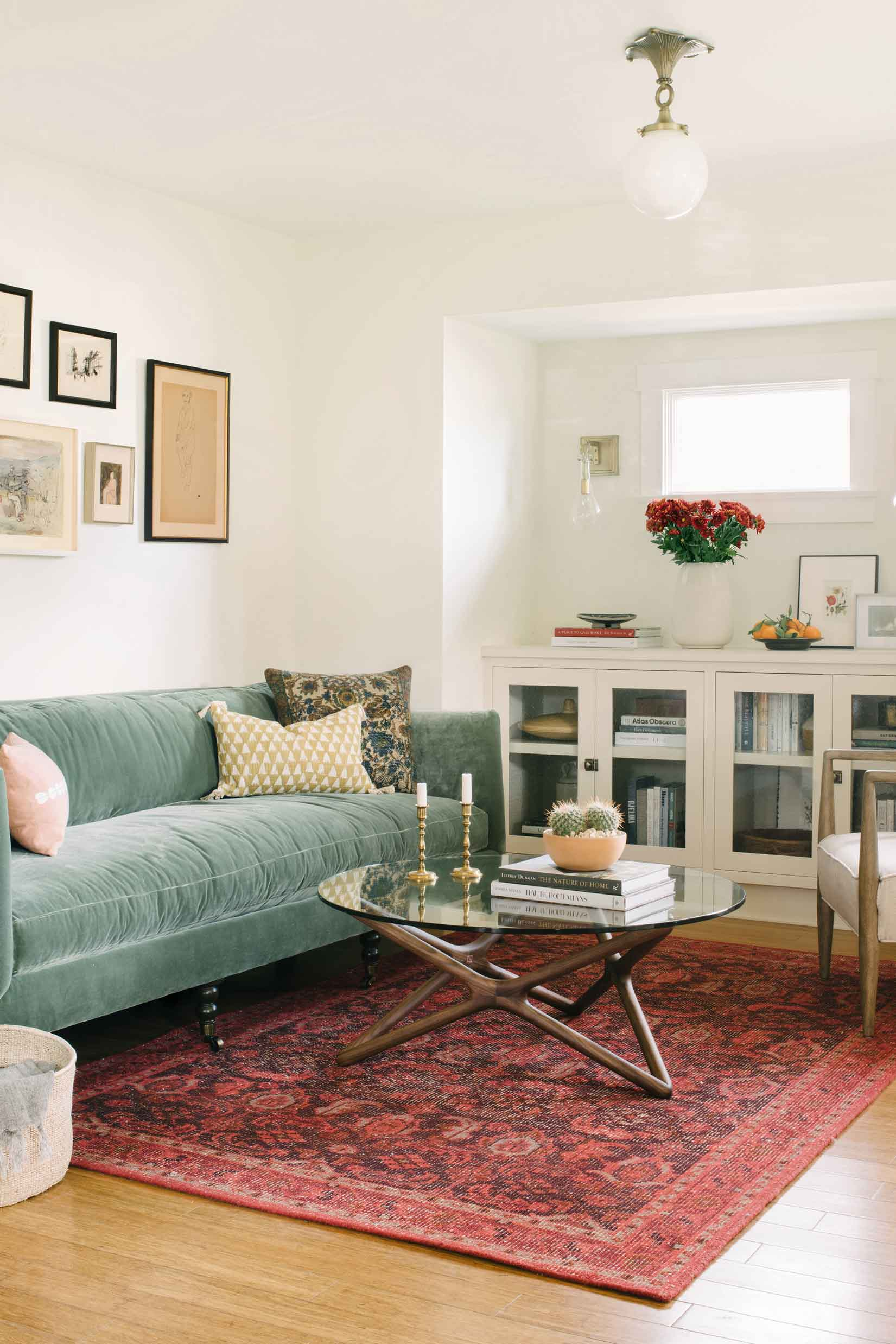 Actress Floriana Lima's home gets a jewel toned update