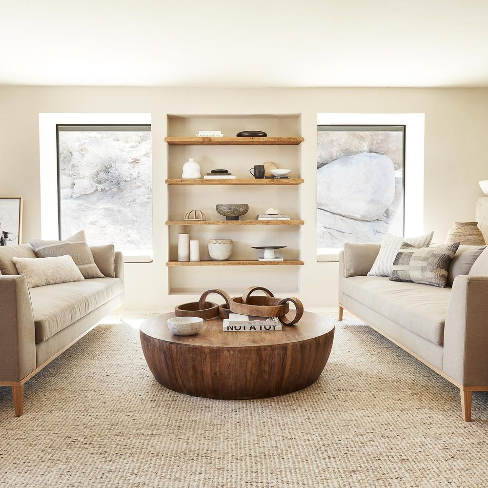 Arteriors Jacob Round Coffee Table