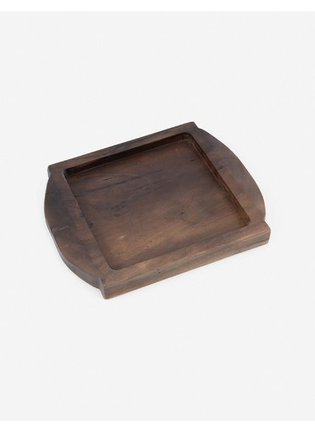 Lylah Square Tray, Natural