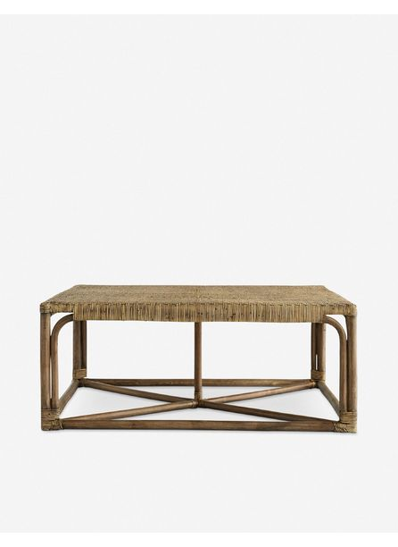 Arteriors Underhill Coffee Table, Tobacco