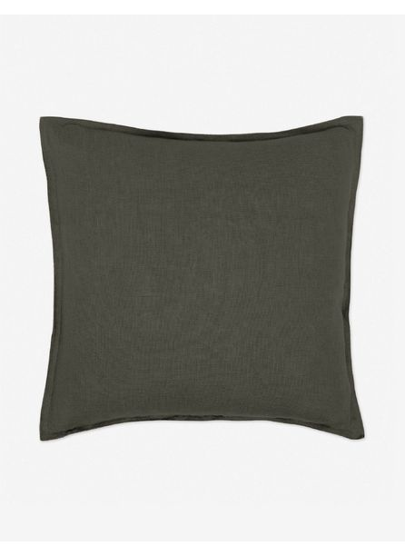 Arlo Linen Pillow, Conifer