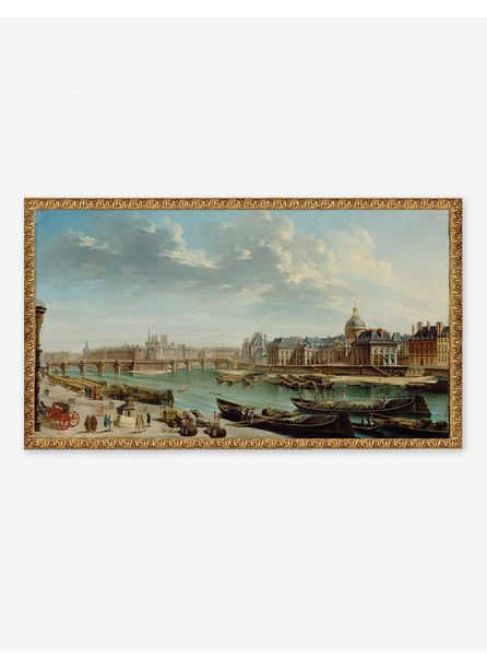'A VIEW OF PARIS WITH THE ILE DE LA CITÉ' WALL ART BY JEAN-BAPTISTE RAGUENET