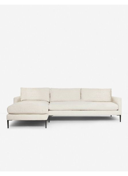 Allisen Left-Facing Sectional Sofa, Sand