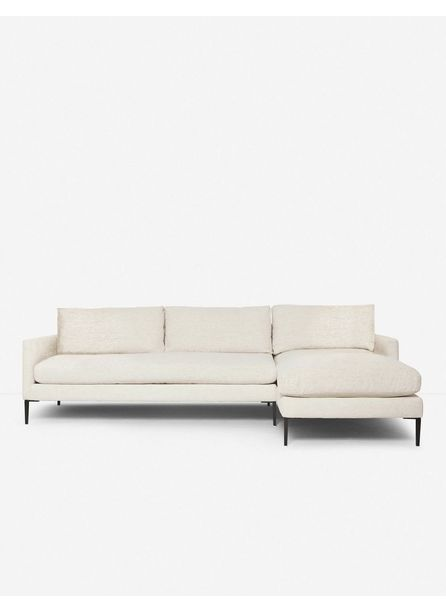 Allisen Right-Facing Sectional Sofa, Sand