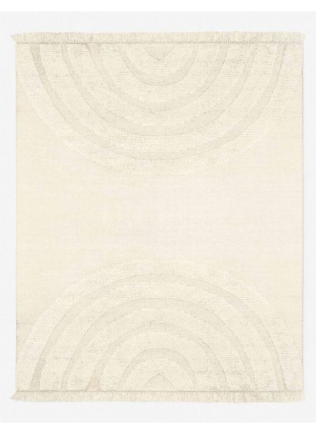 Arches Rug, Natural By Sarah Sherman Samuel