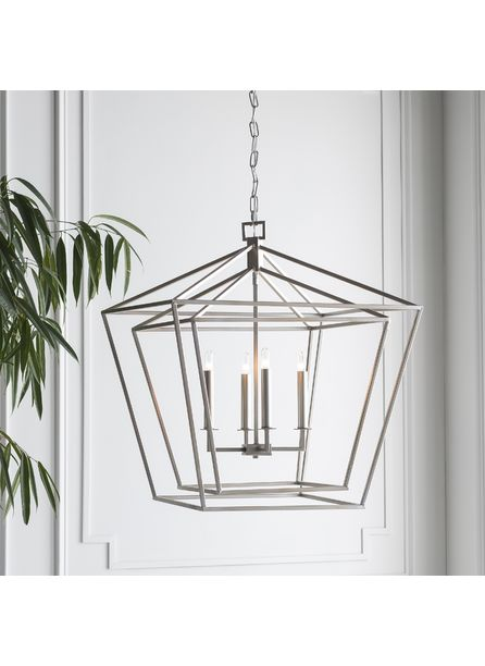 Cacee Pendant Light, Silver