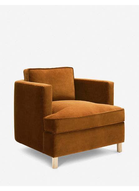 Belmont Accent Chair, Cognac By Ginny Macdonald