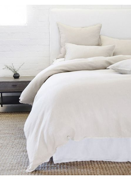 Pom Pom at Home Blair Duvet, Taupe