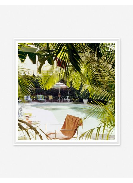 'Swimming Pool at Lilly Pulitzer's' Photography Print