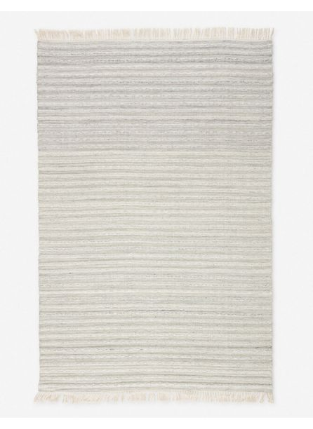Kinsey Indoor / Outdoor Rug, Light Gray and Cream