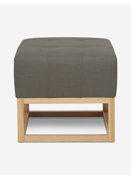 Grasmere Ottoman, Loden By Ginny Macdonald