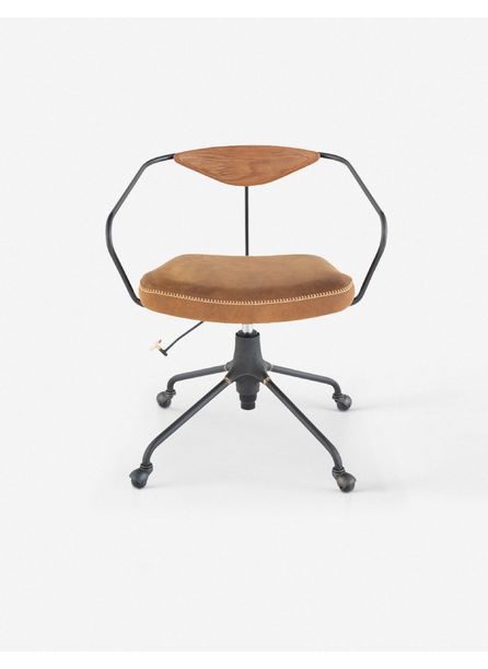 Faye Leather Office Chair