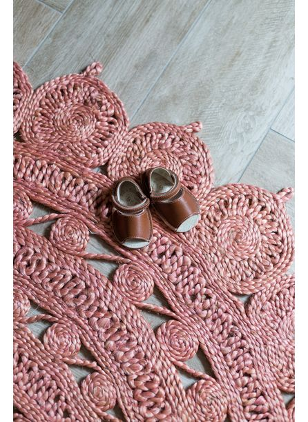 Sunburst Rug, Blush