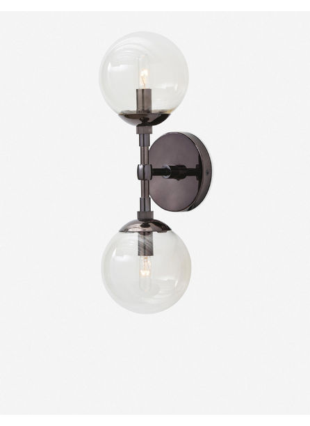 Arteriors Polaris Sconce, Brown Nickel