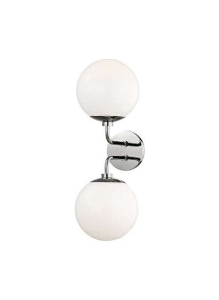 Lia Sconce, Polished Nickel