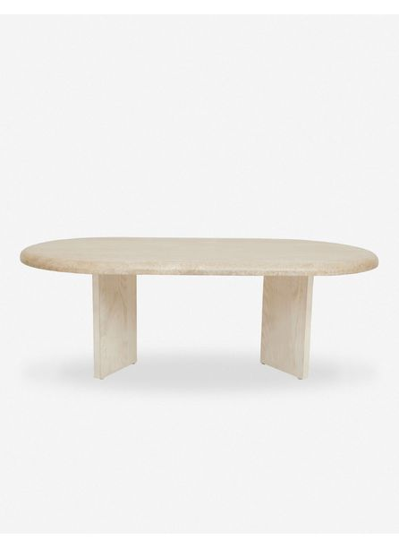 Marin Oval Coffee Table