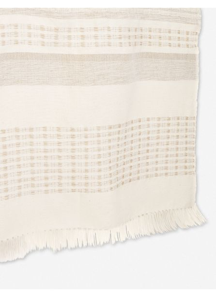 MINNA MARTA THROW, CREAM