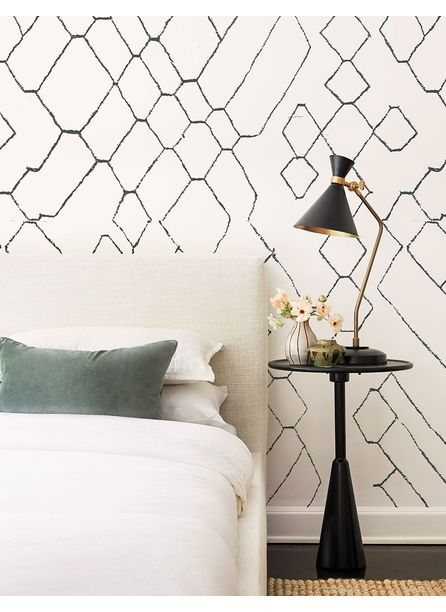Moroccan Wallpaper Mural by Sarah Sherman Samuel