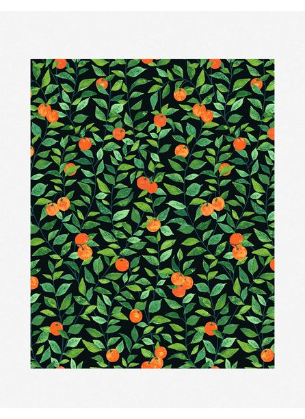 Orange Crush Wallpaper by Nathan Turner, Onyx
