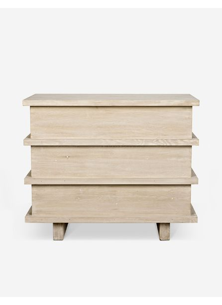 Corliss 3-Drawer Dresser, White Wash