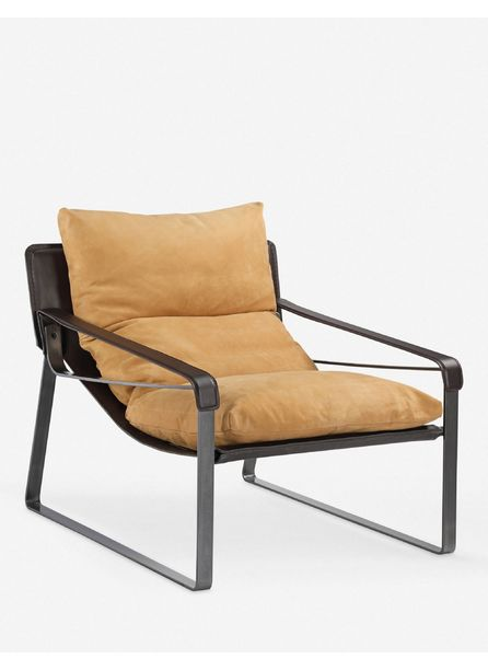 Bo Leather Accent Chair