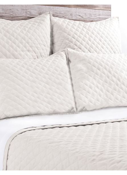 Pom Pom at Home Hampton Coverlet, Cream