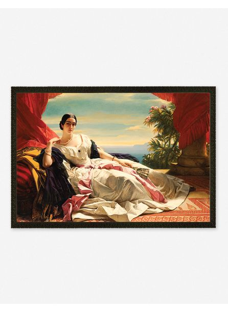 'Portrait of Leonilla, Princess of Sayn-Wittgenstein-Sayn' Wall Art by Franz Xaver Winterhalter