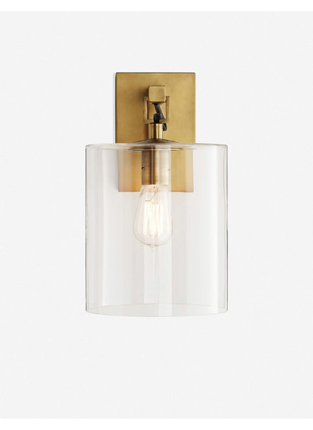 Arteriors Parrish Sconce, Antique Brass