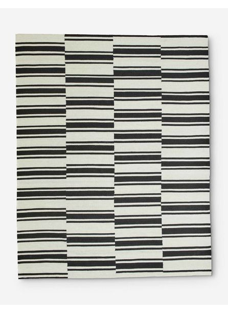 Kye Rug, Black and White
