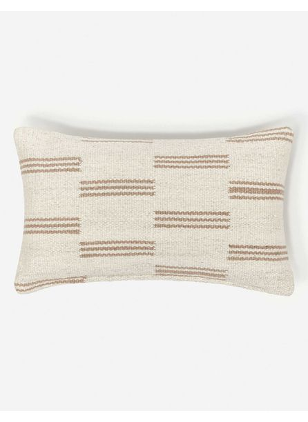 Stripe Break Lumbar Pillow By Sarah Sherman Samuel