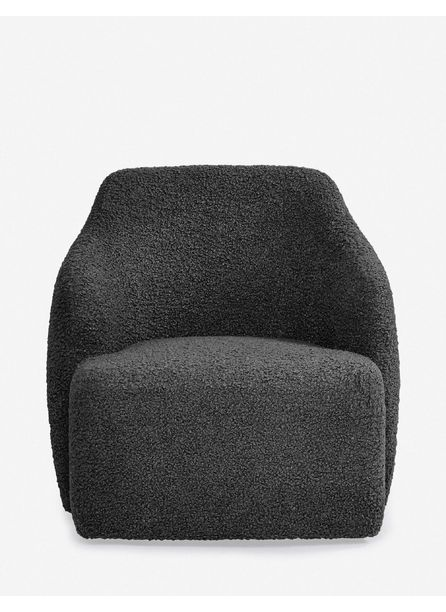 Tobi Swivel Chair, Slate