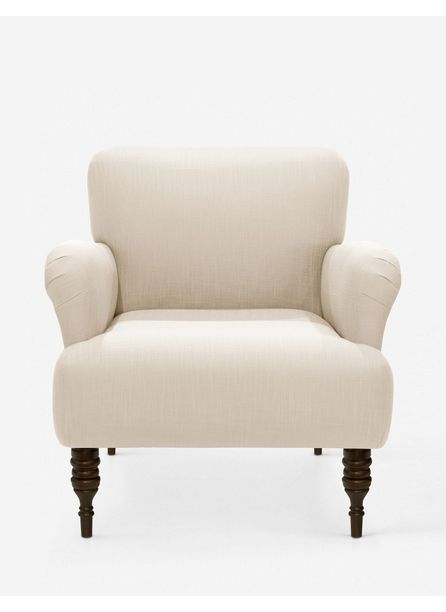 Vyolet Accent Chair, Talc