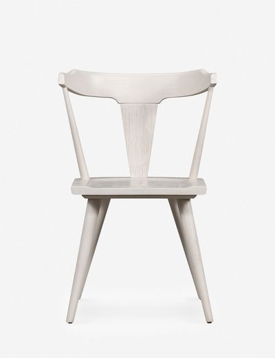 Lawnie Dining Chair, White Oak