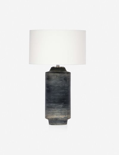 Regina Andrew Dayton Ceramic Table Lamp, Ebony