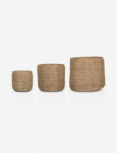 La Jolla Seagrass Baskets (Set of 3)