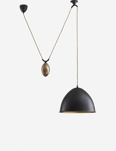 Barry Dixon for Arteriors Egg Drop Pendant Light