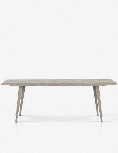 Brae Indoor / Outdoor Dining Table, Gray