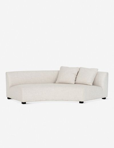 Saban Curved Right Sofa