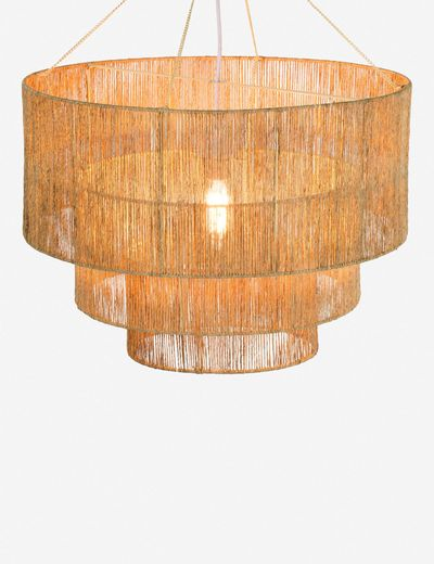 Chavette Chandelier, Natural