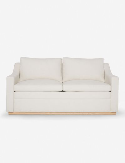 Coniston Linen Sleeper Sofa, Natural By Ginny Macdonald