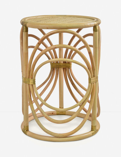 Corrine Side Table, Natural