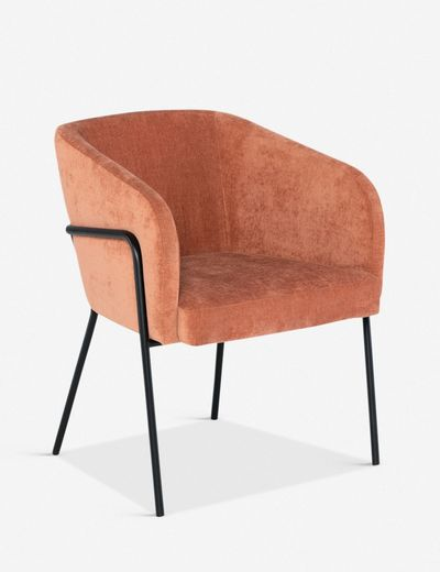 Milla Dining Chair, Nectarine