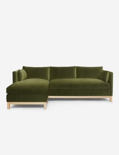 Hollingworth Left-Facing Sectional Sofa, Jade By Ginny Macdonald