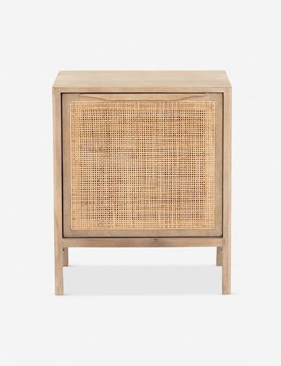 Hannah Right-Side Nightstand, Natural