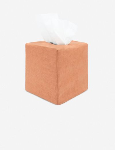 Tyla Tissue Box Cover, Sandalwood