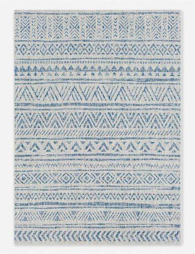Kerra Indoor / Outdoor Rug, Denim