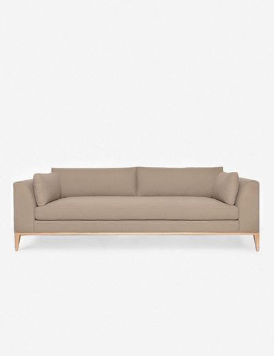 Charleston Sofa, Pebble