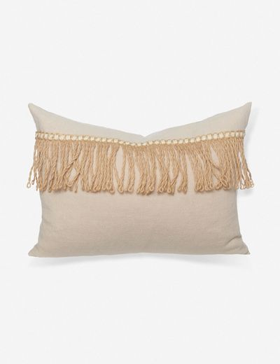 Lany Linen Lumbar Pillow