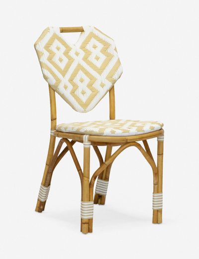Morris & Co. Orkney Bistro Indoor / Outdoor Dining Chair, Natural