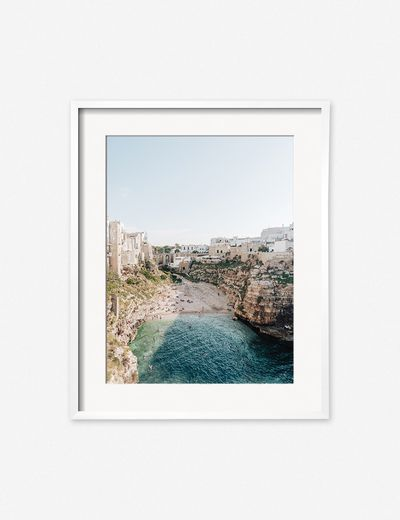 'Polignano a Mare' Photography Print by Carley Rudd